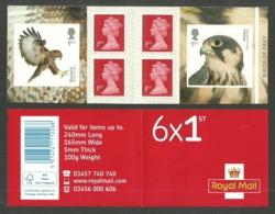GB 2019 BIRDS OF PREY BUZZARD FALCON SELF ADHESIVE BOOKLET MNH - 1952-.... (Elisabeth II.)