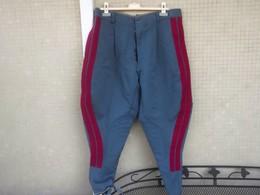 Pantaloni Vintage P.S. Polizia Stradale Girovita Cm. 90 Usati - Polizia