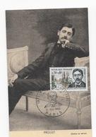 Carte Maximum 1966 Proust - Cartes-Maximum