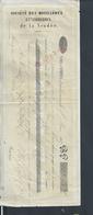 LETTRE DE CHANGE 1847 USINES DE FAYMOREAU SOCIÉTÉ DES HOUILLÈRES & VERRERIES DE LA VENDÉE : - Lettres De Change