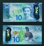 NEW ZEALAND  -  2015 $10 UNC Banknote - New Zealand