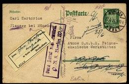 A6009) DR Karte München 22.06.25 N. Berlin Stempel U. Gelber Hinweiszettel - Deutschland