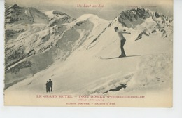 "FONT ROMEU - ""LE GRAND HOTEL "" - Un Saut En Ski - Autres Communes"