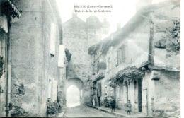 N°72107 -cpa Bruch -entrée De La Rue Centrale- - Sonstige Gemeinden