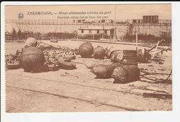 Zeebrugge - Mines Allemandes Retirees Du Port - Zeebrugge