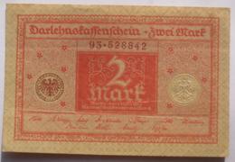 2 Mark 1920 (WPM 60) 1.3.1920 Darlehnskassenschein - [ 3] 1918-1933: Weimarrepubliek