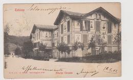 TABIANO  (PR) , Albergo Corazza  - F.p. - Fine '1800 - Parma