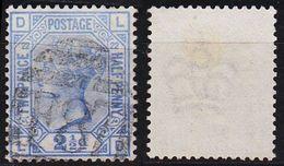 ENGLAND GREAT BRITAIN [1880] MiNr 0059 Platte 22 ( O/used ) [03] - Gebraucht
