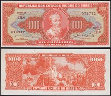 BRASILIEN - BRAZIL 1000 Cruzeiros Banknote (1963) UNC (1) Pick 181  (23902 - Banknoten