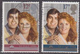 ENGLAND GREAT BRITAIN [1986] MiNr 1081-82 ( O/used ) [01] Sehr Schön - 1952-.... (Elisabeth II.)