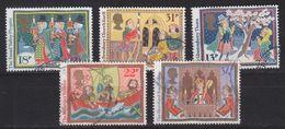 ENGLAND GREAT BRITAIN [1986] MiNr 1091-95 ( O/used ) - 1952-.... (Elisabeth II.)