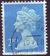 ENGLAND GREAT BRITAIN [1989] MiNr 1214 ADu ( O/used ) Machin - 1952-.... (Elisabeth II.)