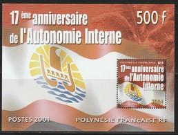 POLYNESIE - BLOC  N° 26  ** (2001) - Blocs-feuillets