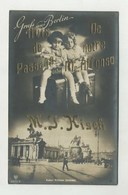 Berlin, Kaiser Wilhelm Denkmal, Werbung M. J. KISCH, Advertising  ( 2 Scans ) - Ohne Zuordnung