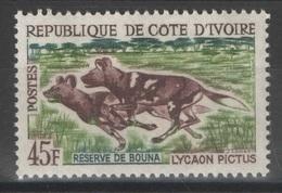 Côte D'Ivoire - YT 219 **  - Chiens Lycaons - Côte D'Ivoire (1960-...)