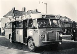 Autobus,Saurer/Allan, RET 246, Rotterdam, Kastanjeplein, SVA Foto - Auto's