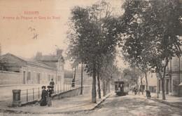 34/ Beziers - Avenue De Pezenas Et La Gare Du Nord - - Beziers