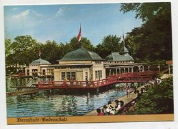GERMANY  - AK 348071 Darmstadt - Badeanstalt - MODERN REPRODUCTION CARD - Darmstadt