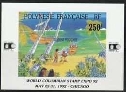 POLYNESIE - BLOC  N° 20  ** (1992) - Blocs-feuillets