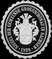 Grossschönau: Siegel Der Gemeinde Großschönau In Sachsen Siegelmarke - Cinderellas