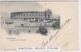 Espanha -França  -2 Cp Toros  -Arenes - Barcelona