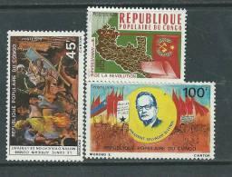 Congo N° 548 / 50 XX   Les 3 Valeurs Sans Charnière TB - Congo - Brazzaville