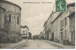 St/           16   Montmoreau   Route De Chalais          (animations) - Frankrijk