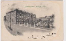 SALSOMAGGIORE  (PR) , Albergo Grande  - F.p. - Anni '1900 - Parma
