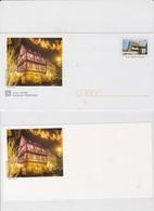 FRANCE 5 Env PAP Prêt à Poster Maison Alsacienne N°YT 3596 + 5 Cartes Marché De Noël Alsace - 2005 - Postal Stamped Stationery