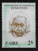 ZAIRE  N° 979 *  Albert Einstein - Albert Einstein