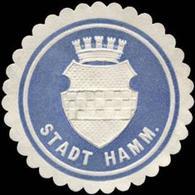 Hamm: Stadt Hamm Siegelmarke - Cinderellas
