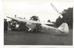PHOTO AVION   AUSTER  F-BAVS     13X9CM - 1946-....: Modern Era