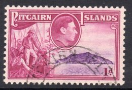 Pitcairn GVI 1940-51 1d Christian On Bounty Definitive, Used, SG 2 - Stamps