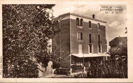 63 ROYAT-LES-BAINS  HOTEL DU CHALET - Royat