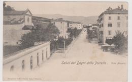 BAGNI Della PORRETTA (BO) , Viale Mazzini  - F.p. - Fine '1800 / Inizi '1900 - Bologna