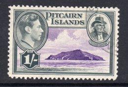 Pitcairn GVI 1940-51 1/- Fletcher Christan & Island Definitive, Used, SG 7 - Stamps