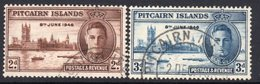 Pitcairn GVI 1946 Victory Set Of 2, Used, SG 9/10 - Stamps