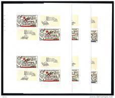 CSSR 1977 Drei Ungezahnt Blocke Mi. 2407/09 B YV. 40/42 ND MNH** Einwandfrei Postfrisch, Selten! - Blocchi & Foglietti