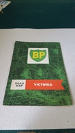 RARE ANTIQUE ROADMAP BOOKLET AUSTRALIA - VICTORIA W/ BP OILS ADVERTISING 60'S - Carte Stradali