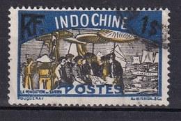 Colonies Françaises - INDOCHINE -  1927 - Timbre Oblitéré  N° YT 145 - Prix Fixe Cote 2015 à 15% - Indochina (1889-1945)