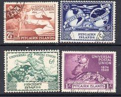 Pitcairn GVI 1949 UPU Set Of 4, Used, SG 13/16 - Stamps