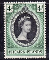 Pitcairn QEII 1953 Coronation, Used, SG 17 - Stamps