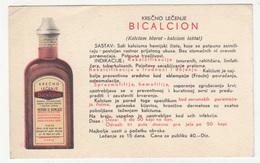 Bicalcion A. Goldstein & E. Rabinovici Preprinted Reply Vintage Postcard B190401 - Pubblicitari