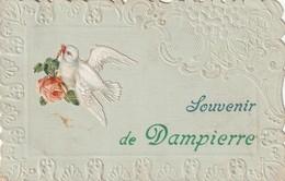 14/ Souvenir De Dampierre - Cachet De Depart Calvados - 1909 - Autres Communes