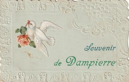 14/ Souvenir De Dampierre - Cachet De Depart Calvados - 1909 - Other Municipalities