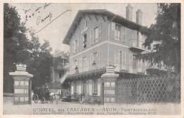 77-AVON-FONTAINEBLEAU- GRAND HÔTEL DES CASCADES - Avon