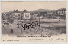 Chaux-de-Fonds (1904 - Avenue De La Gare - Brasserie Terminus) - NE Neuchâtel