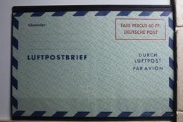 Alliierte Besetzung Ganzsache LF4F ** Postfrisch Luftpostfaltbrief #SI472 - Gemeinschaftsausgaben
