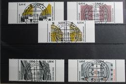 BRD 2298-2302 Gestempelt Als Waagerechtes Paar Bundesrepublik Deutschland #SI440 - Sin Clasificación
