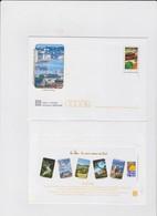 FRANCE 5 Petites Env PAP Prêt à Poster Le Marché De Provence N°YT 3647 5 Illustrations Var - 2005 - Entiers Postaux
